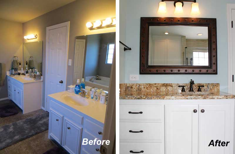 Kitchen Before After Remodeling Photos Dreammaker Amarillo