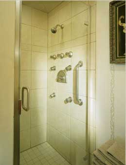 Aging in Place Shower Accessories